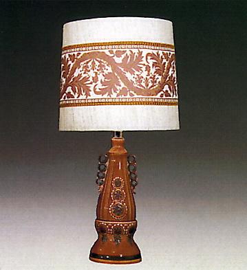Exelsior Lamp Brown Lladro Figurine