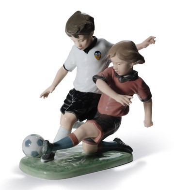 Fair Play (vcf) Lladro Figurine