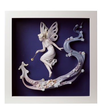 Fairy Wish - Wall Art Lladro Figurine