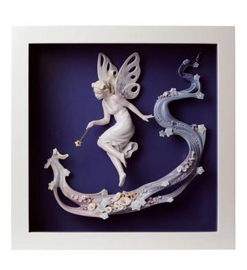 Fairy Wish - Wall Art Lladro Figurine