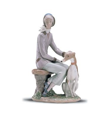 Faithful Companion Lladro Figurine