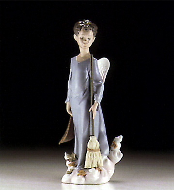 Fall Angel Lladro Figurine
