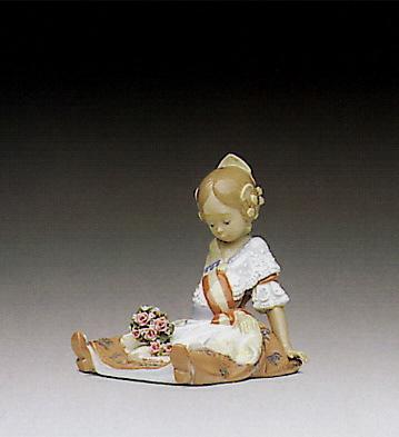 Fallas Queen Lladro Figurine