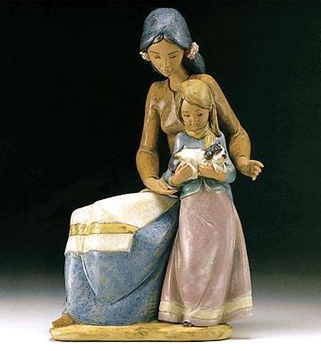 Family Love Lladro Figurine