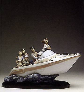 Family Outing (b) Lladro Figurine