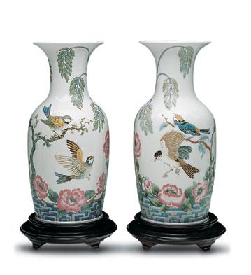 Fanciful Flight Vase Lladro Figurine