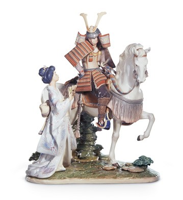 Farewell Of The Samurai Lladro Figurine