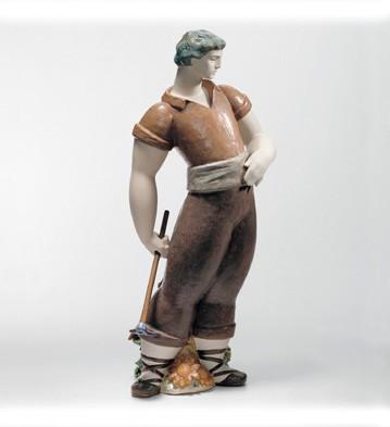 Farmer Lladro Figurine