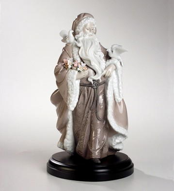 Father Christmas - Spirit Of Nature Lladro Figurine