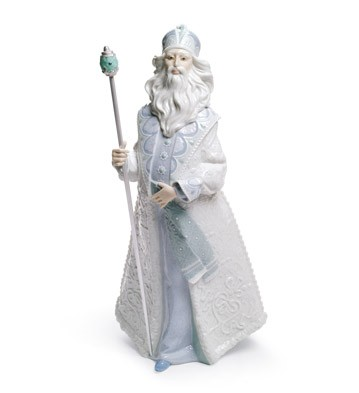 Father Frost Lladro Figurine