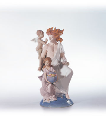 Father Sun Lladro Figurine