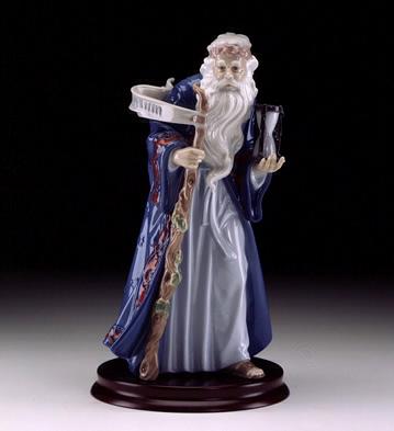 Father Time Lladro Figurine