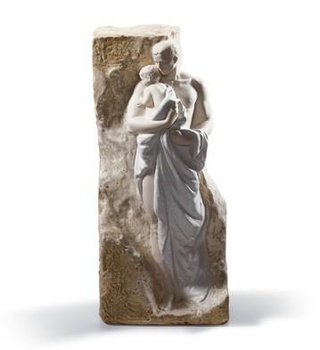 Fatherhood Mural Lladro Figurine