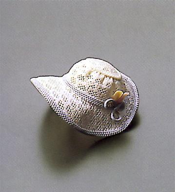 Feathered Pink Hat Lladro Figurine