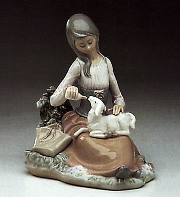 Feed-time Lladro Figurine