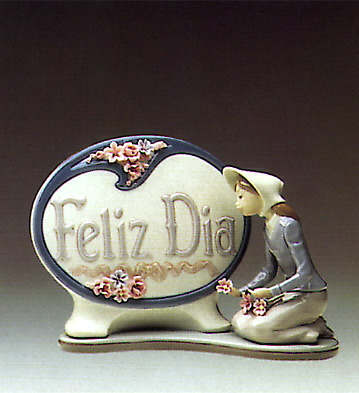 Feliz Dia Lladro Figurine