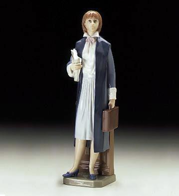 Female Attorney Lladro Figurine