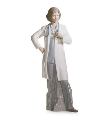 Female Doctor Lladro Figurine