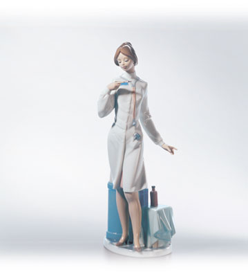Female Physician Lladro Figurine