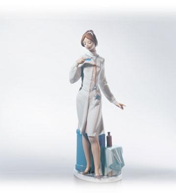 Female Physician Lladro Figurine