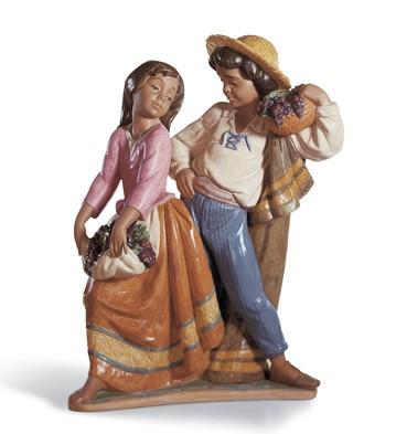 First Crush Lladro Figurine