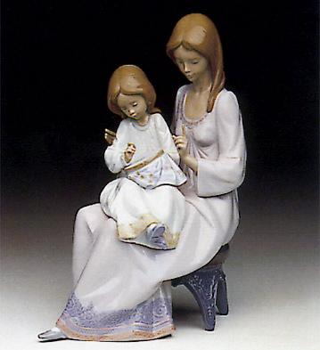 First Sampler Lladro Figurine