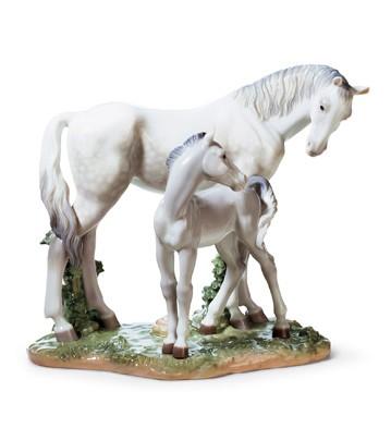 First Steps On The Prairie Lladro Figurine