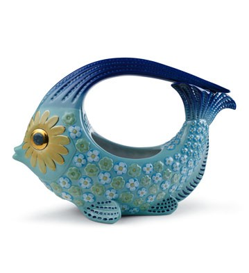 Fish Centerpiece Large (color) Lladro Figurine