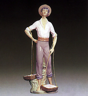 Fisher Man Lladro Figurine