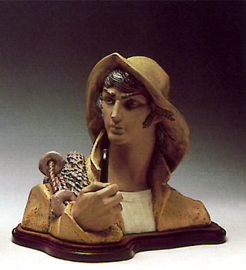 Fisherman -b- Lladro Figurine