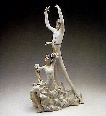 Flamenco Dancers Lladro Figurine