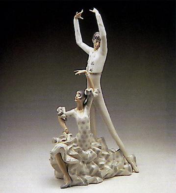 Flamenco Dancers Lladro Figurine