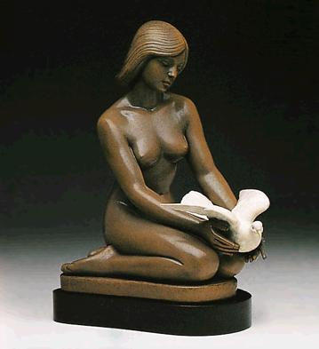 Flight Of Fancy (l.e.) (b Lladro Figurine