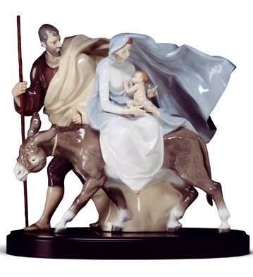 Flight To Egypt (b) Lladro Figurine