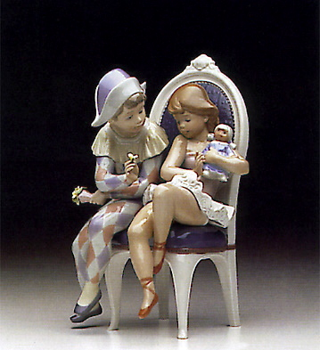 Flirtatious Jester Lladro Figurine