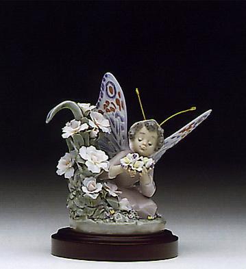 Floral Admiration(b) Lladro Figurine