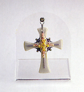 Floral Cross N.2 Lladro Figurine
