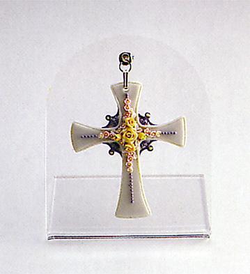 Floral Cross N.2 Lladro Figurine