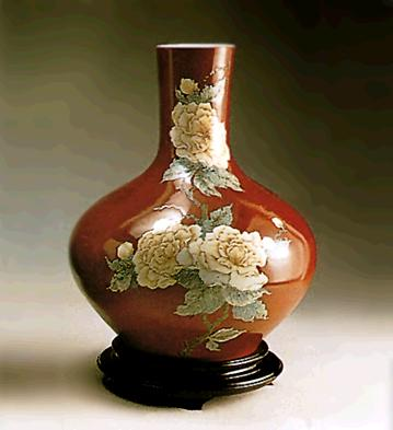 Floral Decoration Vase (l Lladro Figurine