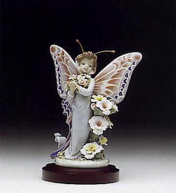Floral Fantasy (b) Lladro Figurine