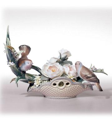 Floral Serenade Lladro Figurine