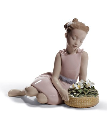 Flower Arrangement Lladro Figurine