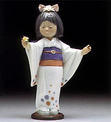 Flower Gazer Lladro Figurine