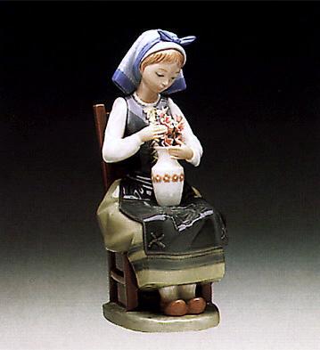 Flower Harmony Lladro Figurine