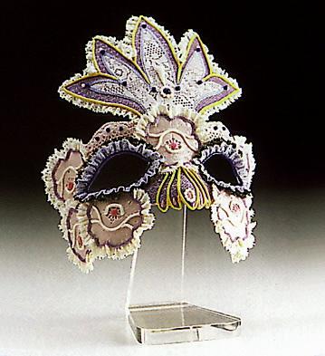 Flower Queen Mask N.2 Lladro Figurine