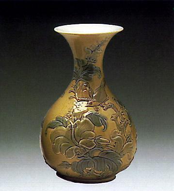 Flower Vase (sparrows) Lladro Figurine