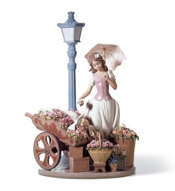 Flowers For Everyone Lladro Figurine