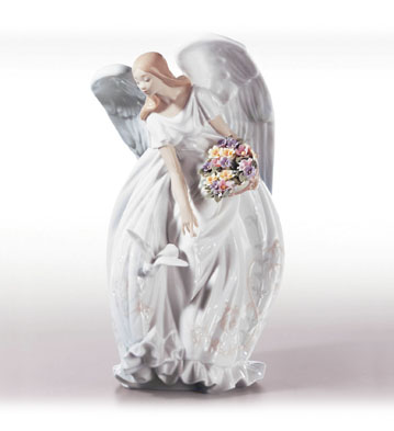 Flowers of Peace Lladro Figurine