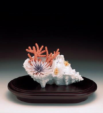 Flowers Of The Sea L.e.b. Lladro Figurine