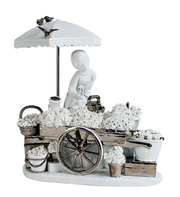 Flowers Of The Season (re-deco) Lladro Figurine